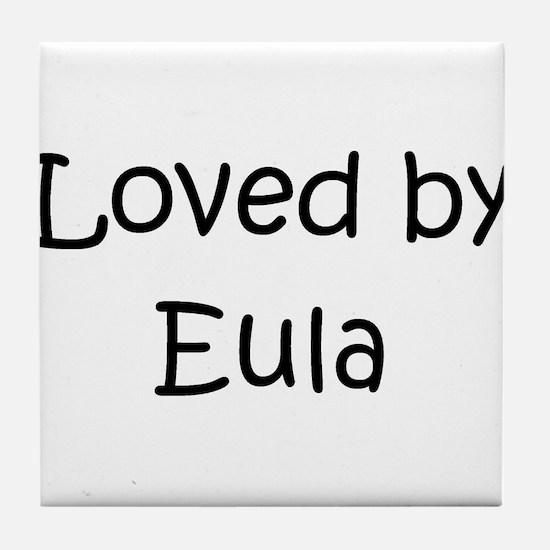 Funny Eula Tile Coaster