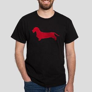 Dachshund Wirehaired Dark T-Shirt