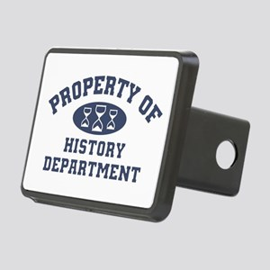 Property Of History Depart Rectangular Hitch Cover