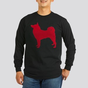 Finnish Spitz Long Sleeve Dark T-Shirt