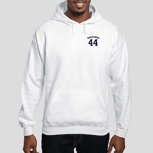 Barack Obama President 44 Hooded Sweatshirt