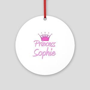 Princess Sophie Ornament (Round)
