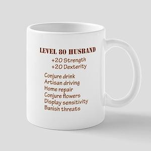 Lvl 80 Husband Mug