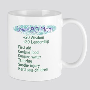 Lvl 80 Mom Mug