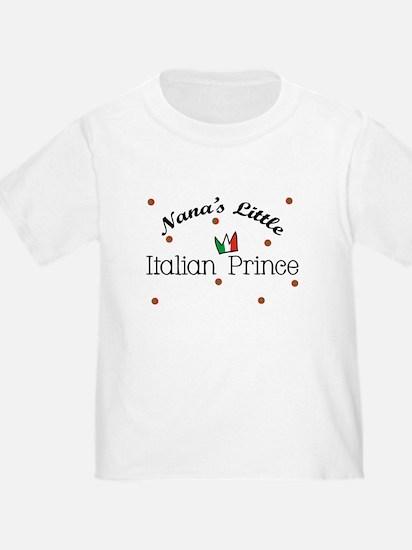 Nana's Little Italian Prince Baby T