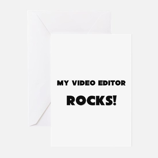 MY Video Editor ROCKS! Greeting Cards (Pk of 10)
