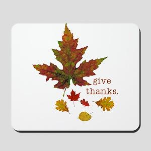 Pretty Thanksgiving Mousepad