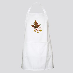 Pretty Thanksgiving BBQ Apron