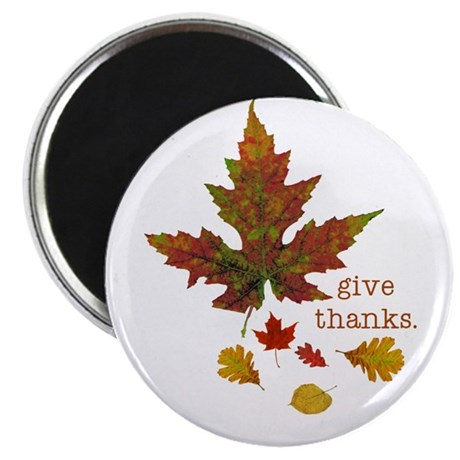 """Pretty Thanksgiving 2.25"""" Magnet (10 pack)"""