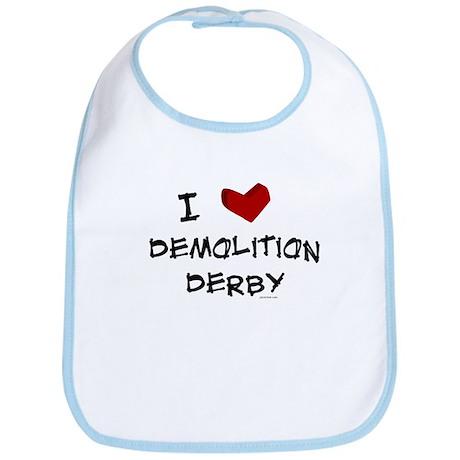 I love demolition derby Bib