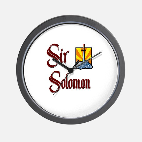 Sir Solomon Wall Clock