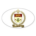 PARENT Family Crest Oval Sticker