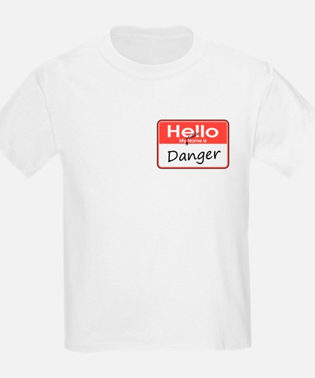 My Middle Name is Danger T-Shirt