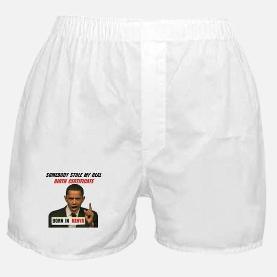 NOT A U.S. CITIZEN Boxer Shorts