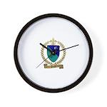 PAUZE Family Crest Wall Clock