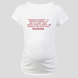 Survivor Priceless Maternity T-Shirt