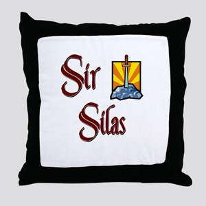 Sir Silas Throw Pillow