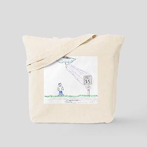 Stupid Aliens Tote Bag