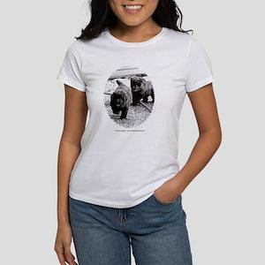Newfie Pups! Women's T-Shirt