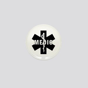 Medic EMS Star Of Life Mini Button