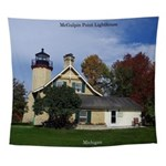Mcgulpin Point Lighthouse Wall Tapestry