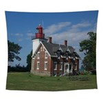 Dunkirk Lighthouse Wall Tapestry