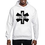 Medic EMS Star Of Life Hooded Sweatshirt