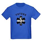 Medic EMS Star Of Life Kids Dark T-Shirt