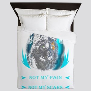 You know my name not my story Valhalla Queen Duvet