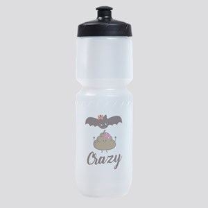 Bat Crap Crazy Funny Sarcasm Sports Bottle