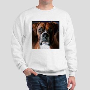 Adoring Boxer Dog Sweatshirt