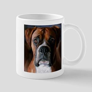 Adoring Boxer Dog Mug