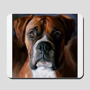 Adoring Boxer Dog Mousepad