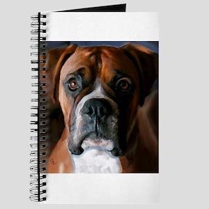 Adoring Boxer Dog Journal