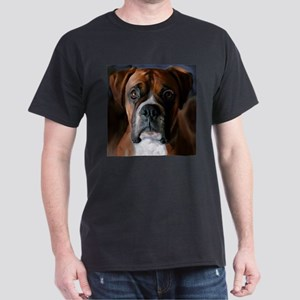 Adoring Boxer Dog Dark T-Shirt