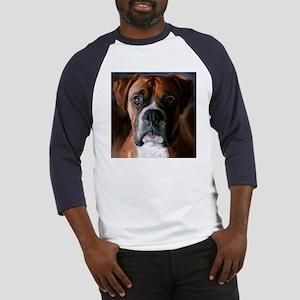 Adoring Boxer Dog Baseball Jersey