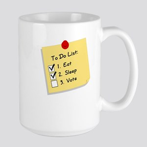 Large Mug Voting To Do List