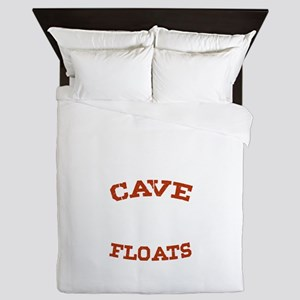 My Man Cave Floats Boat Fishing Lovers Queen Duvet