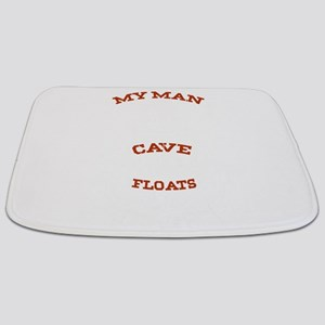My Man Cave Floats Boat Fishing Lovers Bathmat