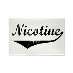 Nicotine Rectangle Magnet (10 pack)