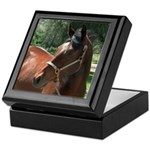 Quarter Horse Keepsake Box