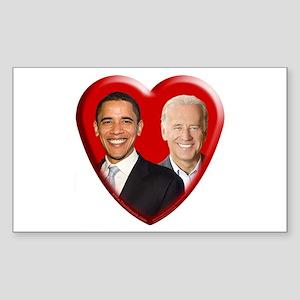 Buy a Barack / Joe Gift Rectangle Sticker