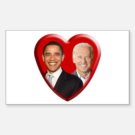 Buy a Barack / Joe Gift Rectangle Decal