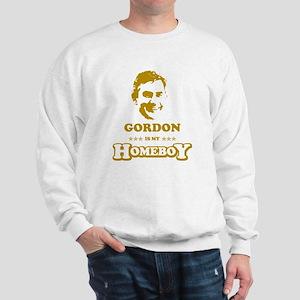 GORDON BROWN IS MY HOMEBOY Sweatshirt