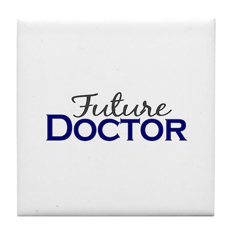 Future Doctor Tile Coaster