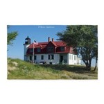 Point Betsie Lighthouse Area Rug