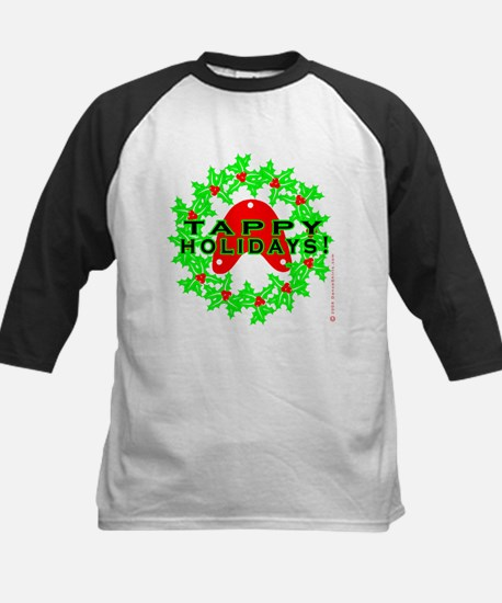 Tappy Holidays Designs for Ta Kids Baseball Jersey