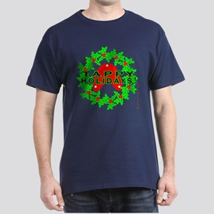 Tappy Holidays Designs for Ta Dark T-Shirt