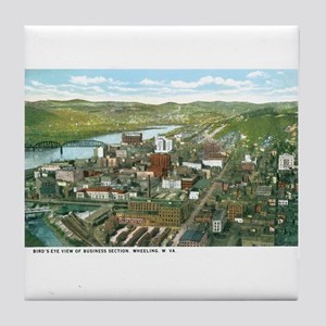 Wheeling WV Tile Coaster
