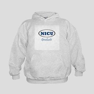 NICU Graduate boy Kids Hoodie